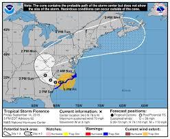 Hurricane Tracking Chart Florence Nc Coast Hurricane Florence Update Southport Nc