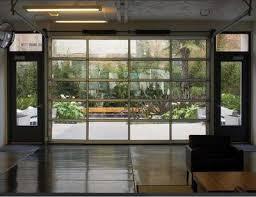Image Alibaba Lux Garage Doors Contemporary Aluminum Clear Tempered Glass Garage Door