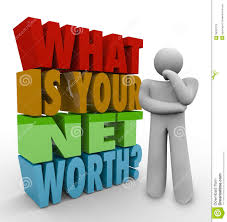 What Is Networth What Is Your Net Worth Question Total Money Value Wealth Stock