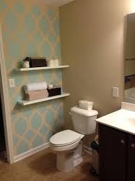 bathroom accent wall ideas modern with image of throughout walls in bathrooms prepare 8