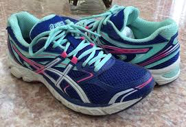 details about asics gel equation women s blue pink turquoise running shoes size 7 t5q6n euc