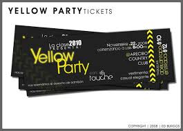 Samples Of Tickets For Events 32 Excellent Ticket Design Samples Ticket Design Party
