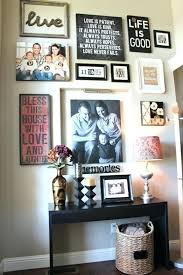 this is what i picture our future family wall like except with canvas decor ideas room design w