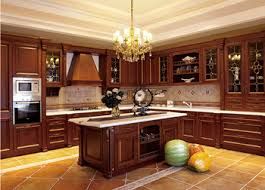 modern solid wood kitchen cabinet european style view european