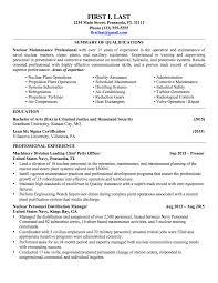 Download Military Resumes Haadyaooverbayresort Com