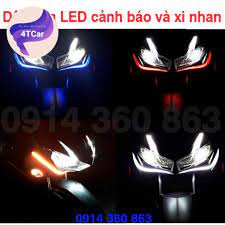 2 dây đèn LED dẻo định vị ban ngày và Xi nhan audi chạy đuổi loại 30cm