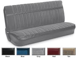 more information velour front bench seat reupholstery kits
