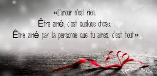 être Aimé Citation Citations Amour Couple Bonheur
