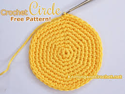 Crochet Circle Pattern Awesome Crochet Circle Shape Knitting And Crochet
