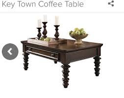 key town coffee table ashley furniture