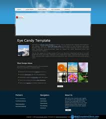 Flash Website Templates Eye Candy Free Website Template Website Templates 12