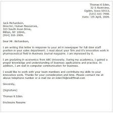 A Proper Cover Letters Business Cover Letter Examples Cover Letter Now