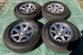 2014 FJ oem alloy wheels set of five w/tpms sensors and lug nuts ...