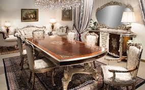 1 High End Italian Furniture Dining Room Set