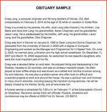 sample of obituary obituaries samples obituary samples word 03 jpg proposal bid