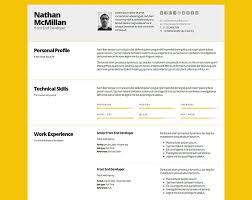 Impressive Resume Impressive Resume Samples Free Excel Templates