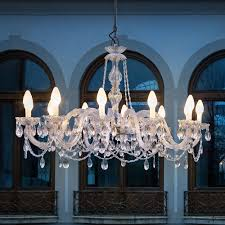 outdoor cut crystal chandelier