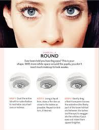 cat eye makeup round eye makeup