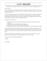 Administrative Assistant Job Resume Objective Cover Letter Samples