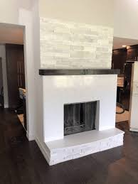 brick fireplace paint makeover ideas brick fireplace makeover easy