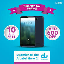 Alcatel Hero 2 with AED 600 discount ...