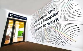 creative office walls. Wonderful Wall Graphic Design For Office Branding Large Size Creative Graphics Walls G