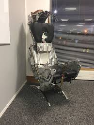 intrepid design martin baker f4 phantom luxury ejector seats with regard to ejection seat office chair