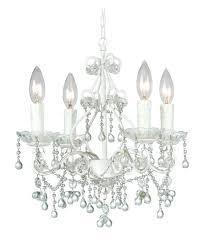 white mini chandelier market 4 light clear crystal white mini chandelier white mini chandelier