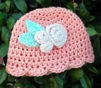 Baby Beanie Crochet Pattern Inspiration Over 48 Free Crocheted Baby Hat Patterns At AllCraftsnet