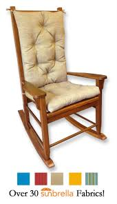 sunbrella outdoor rocking chair cushions rockersdirect rfi cushion sets larger email friend patio pillows wrought iron