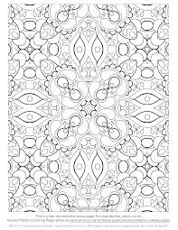 download coloring pages for adults. Unique For Kaleidoscopelike Abstract Design In Download Coloring Pages For Adults N