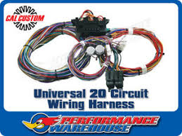 universal 20 circuit wiring harness hot rod muscle car custom speedway 20 circuit wiring harness image is loading universal 20 circuit wiring harness hot rod muscle