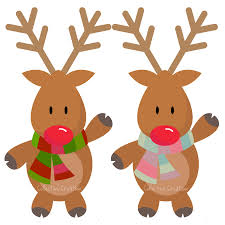 reindeer christmas clipart. Delighful Clipart Digital Download Discoveries For CHRISTMAS REINDEER From EasyPeach On Reindeer Christmas Clipart