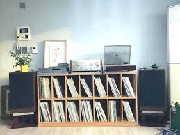 vinyl record furniture. Vinyl Lp Storage Furniture Cabinet Turntable And Solutions For Sale Record . S