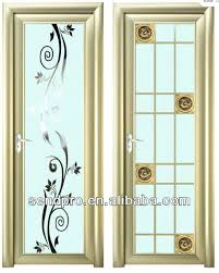 modern bathroom door design with aluminum glass frame on designs ideas philippines aluminu interior glass doors