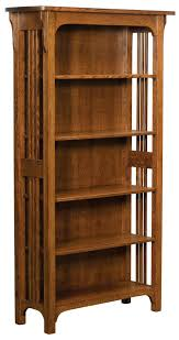 mission style bookcase glass doors target honey oak superblackbird headboard cherry folding with case steel shelving