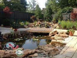 Pond Design Pond Waterfall Design Services For Your Backyard Landscape