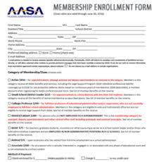 american association of school administrators membership enrollment form