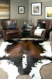 large cowhide rug about cowhide rugs how big is a rug benefits intended for large extra