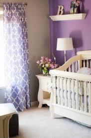 Purple Bedroom White Furniture