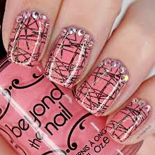 Scribbled Double Stamping Nail Art - Spilledpolish