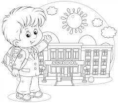 20+ Free Printable Back to School Coloring Pages ...