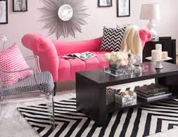 pink and white furniture. black white u0026 bright go citychic with furniture accents on joss and main pink i