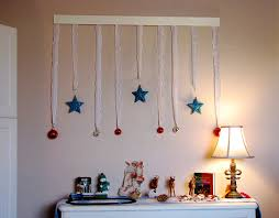 Christmas Wall Art Witching Christmas Decoration Ideas With Round Red Flower Be