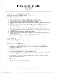 Dental Hygiene Resume Sample Best Of Dental Hygienist Resume Samples Creerpro