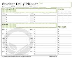 Student Daily Planner Student Daily Planner School Oremedy Get Organized Be Successful