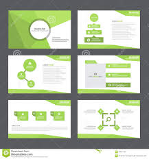 abstract green orange presentation templates infographic elements green abstract polygon presentation template infographic elements flat design set for brochure flyer leaflet marketing stock