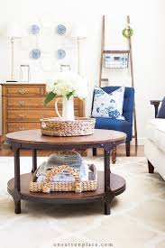 Dual arcade coffee table by surface tension. Simple Round Coffee Table Styling Ideas On Sutton Place