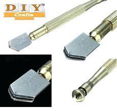 diamond glass cutter tool diamond metal handle steel blade glass cutter cutting diamond glass cutter home