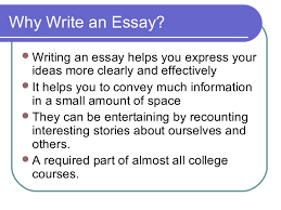elements of an effective essay  concluding paragraph 3 why write an essay